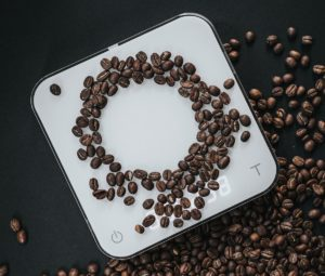 en acaia kaffevåg